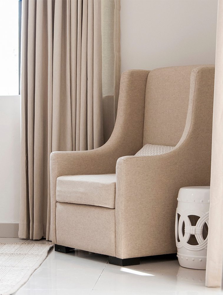 Upholstered Accent Chairs Expressions Metis