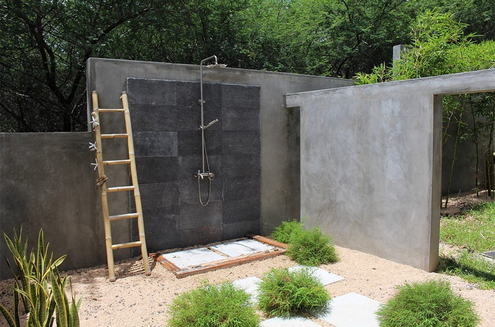Concrete Tiles For Outdoor Shower Expressions Metis